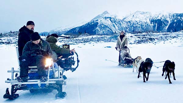 Dog Sleds For TV and Film Industry with Snowhook Adventure Guides
